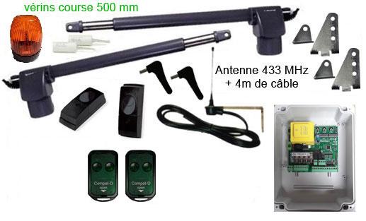 kit motorisation de portail GGP500