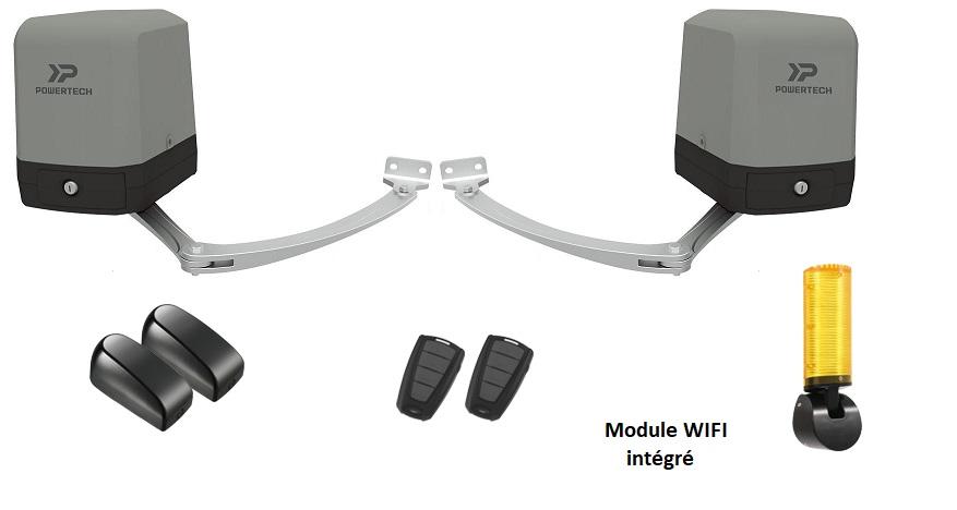 Kit automatisme à bras 24V POWERTECH